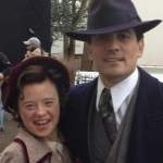 Sarah Gordy and Michael Landes in Upstairs Downstairs