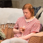 Sarah Gordy and Kevin Wathen in Royal Exchange Theatre production of Crocodiles