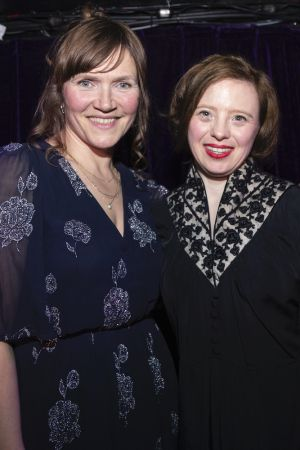 Jessica Hynes and Sarah Gordy