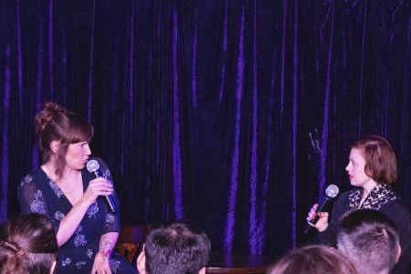 Jessica Hynes interviews Sarah Gordy
