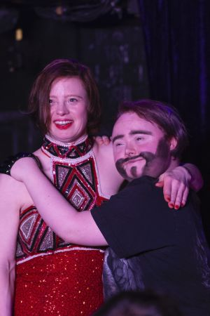 Sarah Gordy and Justin Bond from Drag Syndrome