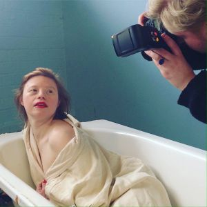 Behind the scenes - Nicholas Welvere for Radical Beauty Project