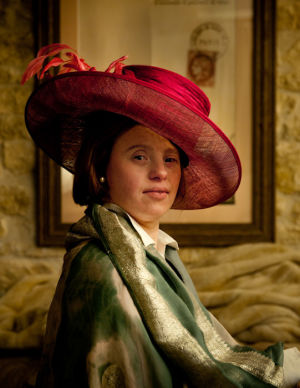 "Sarah Gordy in ""After Vermeer"" by Richard Bailey"