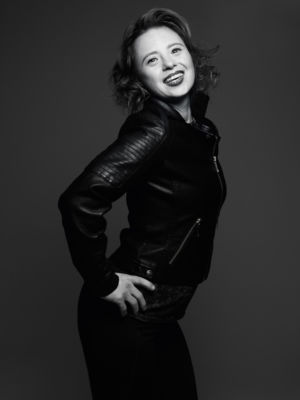 Sarah Gordy portrait by Rankin
