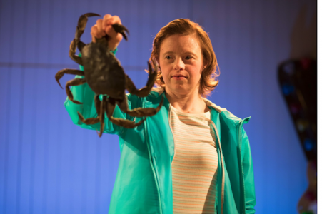 Sarah Gordy in Jellyfish photo by Samuel Taylor