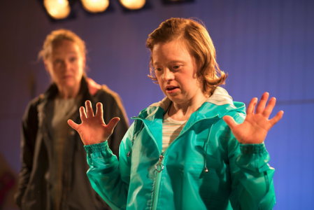 Sarah Gordy and Penny Laden in Jellyfish