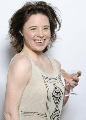 "Sarah's ""champagne smile"""