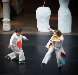 Sarah Gordy and Michael Truong dancing at the Royal Opera House