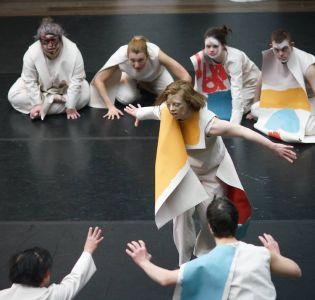 Sarah Gordy as the Chosen One in the Sacrificial Dance