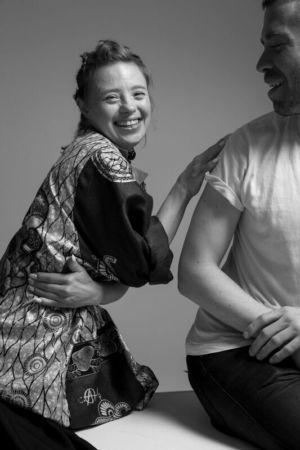 Behind the scenes at Zuzia Zawada photoshoot