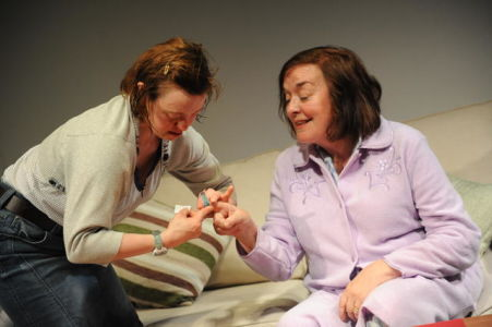 Sarah Gordy and Catherine Terris in Into the Blue