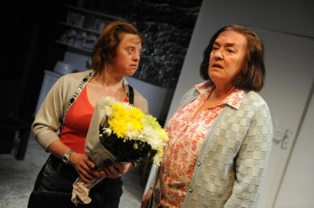 Sarah Gordy and Catherine Terris at the Arcola Theatre