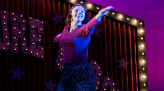 Sarah Gordy in Jellyfish at NT