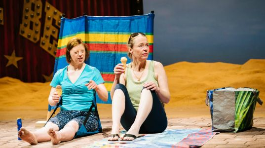 Sarah Gordy and Penny Layden at NT