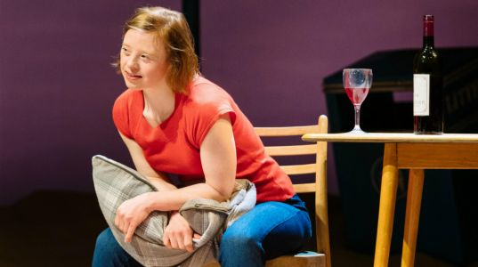 Sarah Gordy in Jellyfish at The National Theatre
