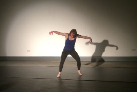 Sarah Gordy dancing Hackney Showroom