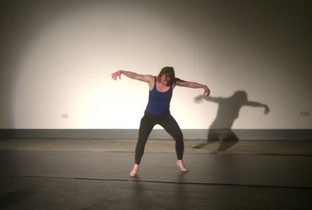 Sarah Gordy dancing Hackney Showroom