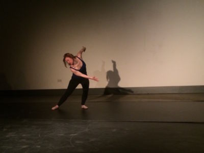 Sarah Gordy dance Hackney Showroom