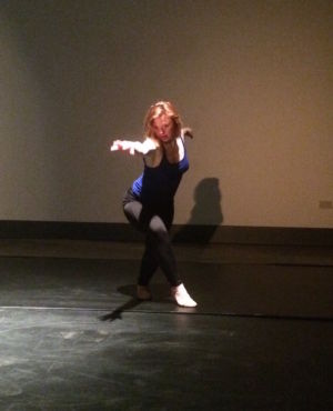 Sarah Gordy dancer Hackney Showroom