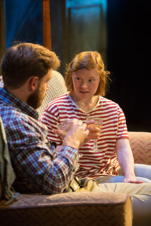 Sarah Gordy and James Atherton in Crocodiles