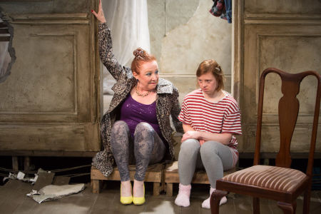 Sarah Gordy and Melanie Hill in Royal Exchange Theatre production of Crocodiles