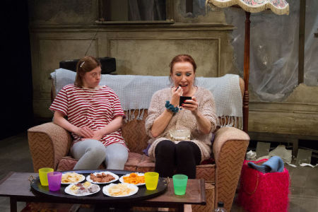 Sarah Gordy and Melanie Hill in Crocodiles