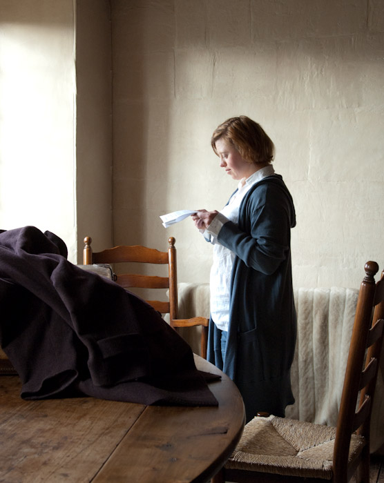 Sarah Gordy in After Vermeer by Richard Bailey