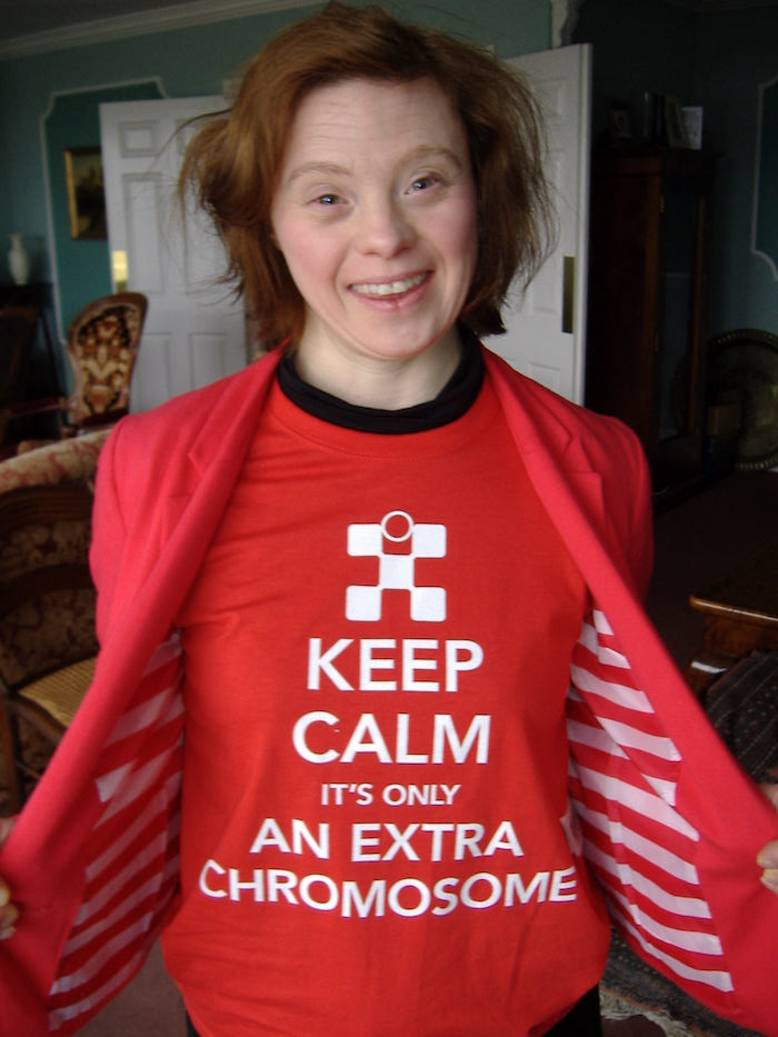 Keep Calm It's Only An Extra Chromosome