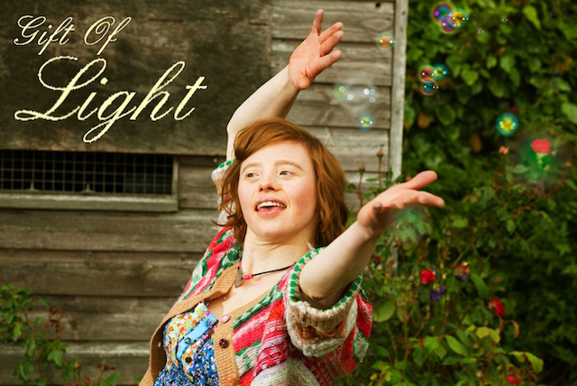 Sarah Gordy for The Gift of Light film project