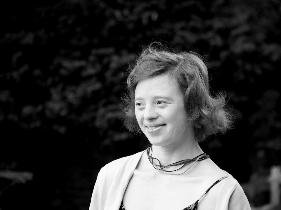 Black and white portrait of Sarah Gordy by Edward Reeves