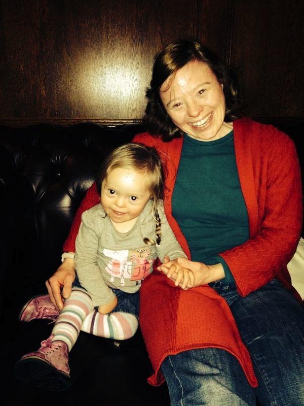 Sarah meets Rosie, from www.thefuturesrosie.com