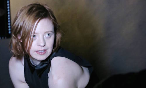 Sarah Gordy at photoshoot
