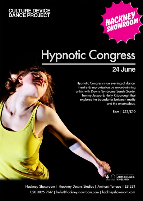 Hypnotic Congress show flyer