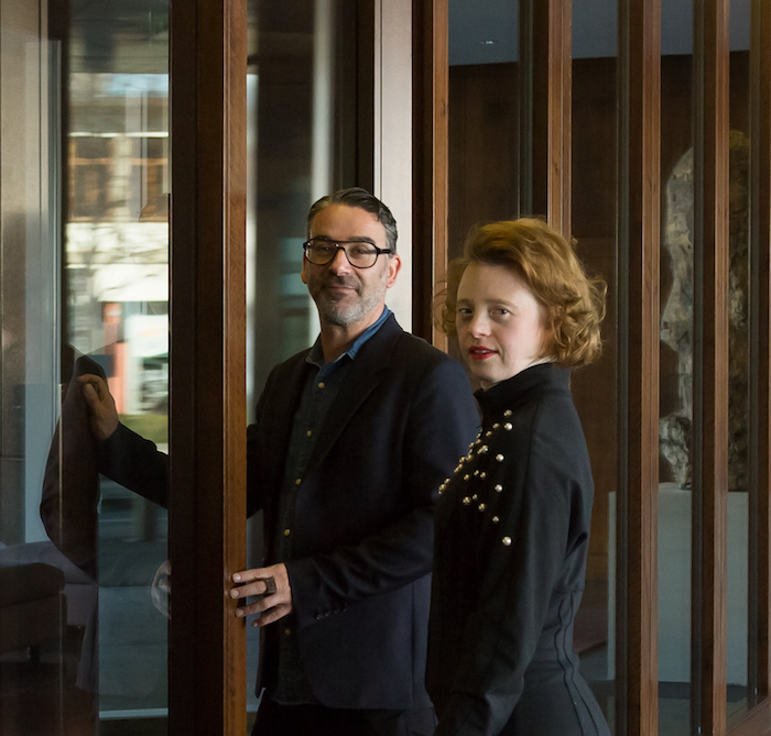 Sarah Gordy and Daniel Vais give a talk for WDSD at Pictet