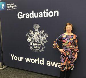 Celebrating University of Nottingham Class of 2020